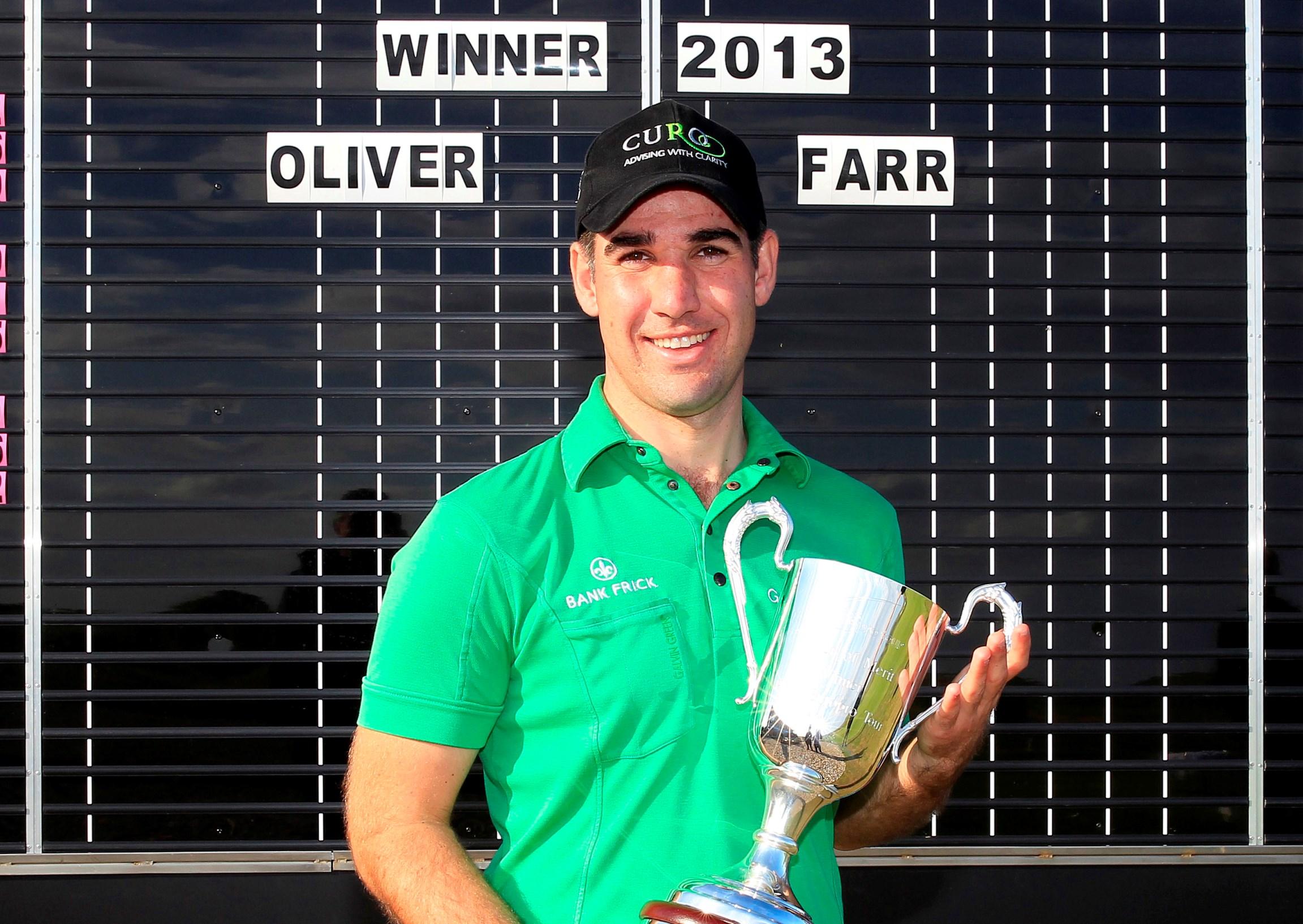 Congratulations Oliver Farr