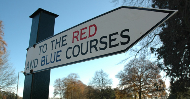 Frilford Heath Golf Club (Red and Blue Courses)