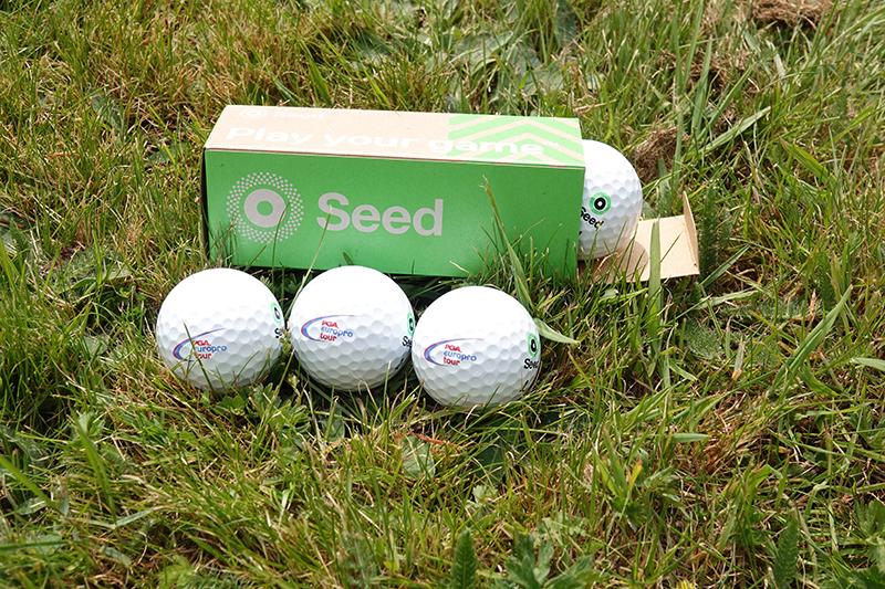 SEED continue as official ball of PGA EuroPro Tour