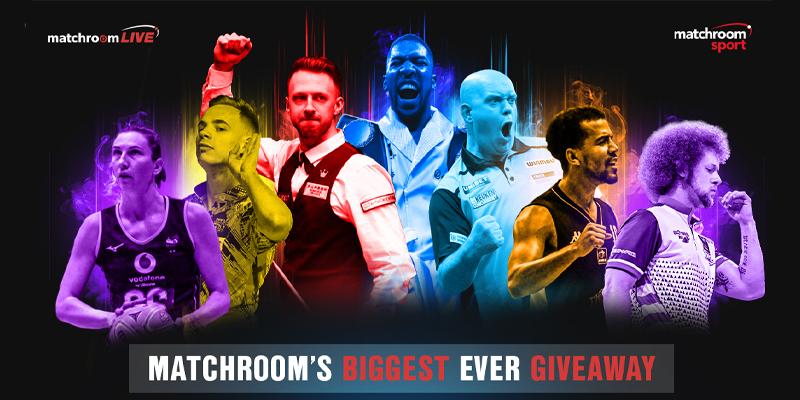 Matchroom's biggest ever giveaway