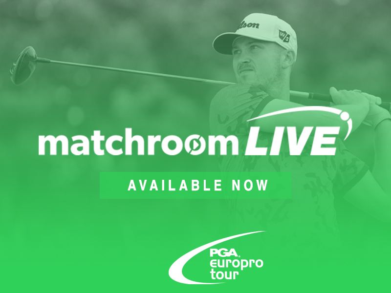 Matchroom Live gives access to Tour history books