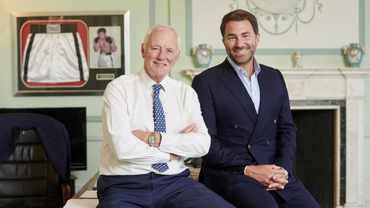 Barry Hearn OBE steps aside as Eddie Hearn becomes Matchroom Sport Chairman