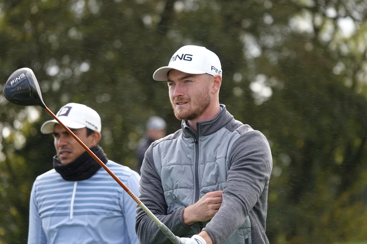 Broadhurst holds two shot cushion going into final day at Montrose