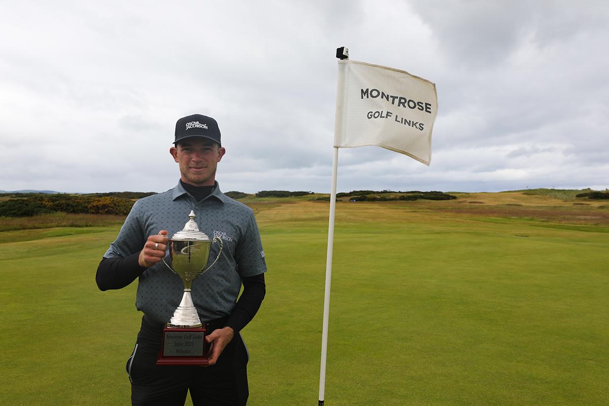 Will Enefer wins maiden PGA EuroPro Tour title at Montrose