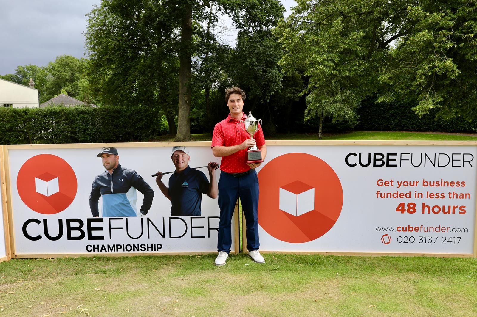 McElroy wins The Cubefunder Championship at Luton Hoo
