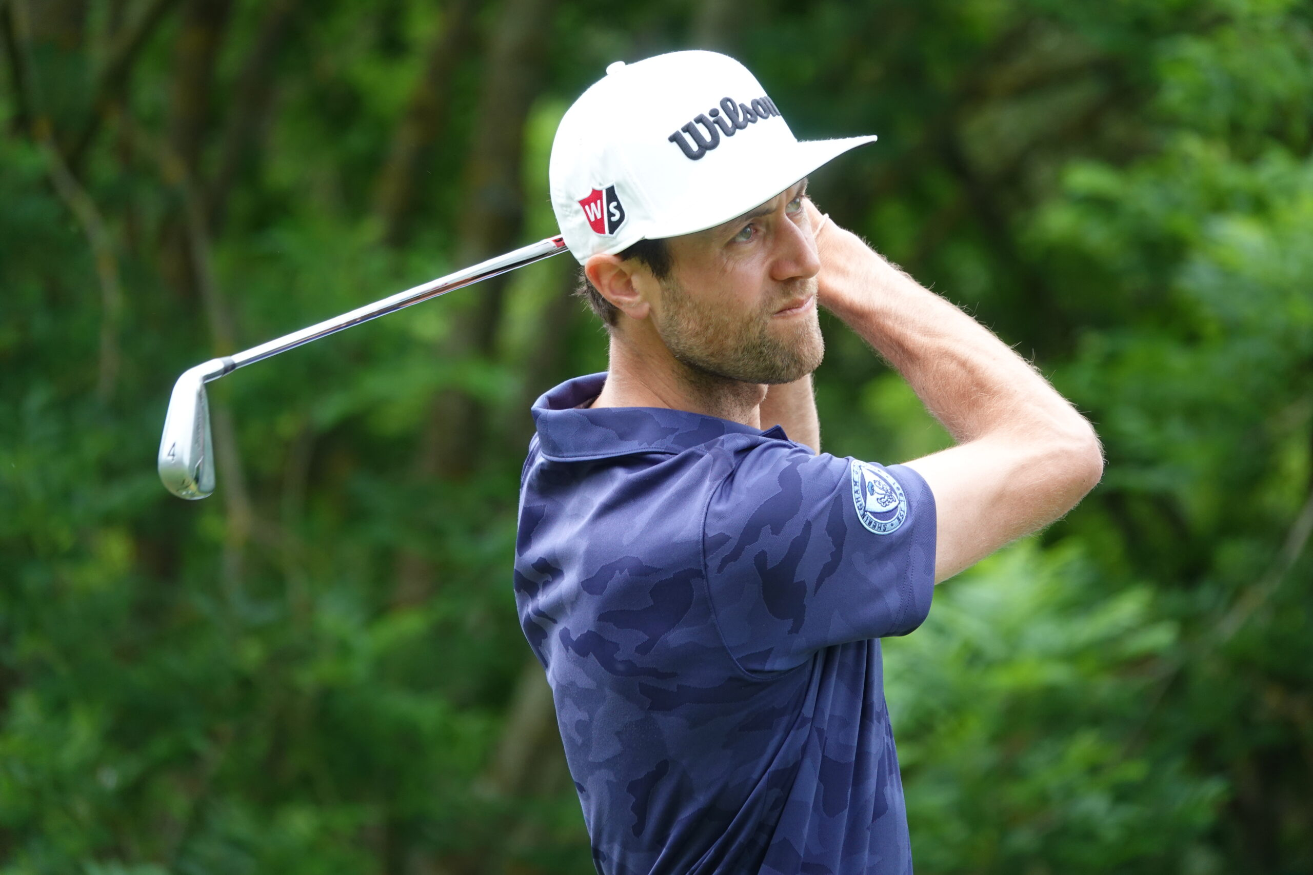 Harrold holds two shot lead at Leven Links