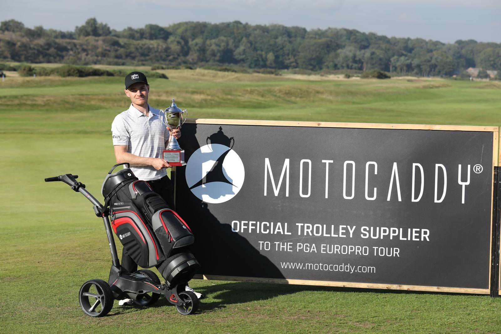 Jack South shoots 59 to claim Motocaddy Masters title and £59k bonus